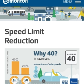 40 km/h default speed limit makes our streetssafer