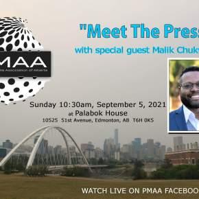 Malik Chukwudi is PMAA's `Meet The Press' guest on Sunday, Sept.5, at PalabokHouse