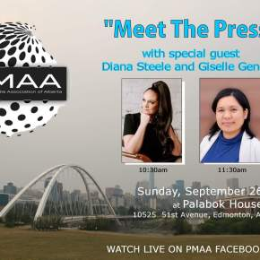 Diana Steele, Giselle General are guests of PMAA's `Meet The Press' on Sunday, Sept.26, at Palabok HouseResto
