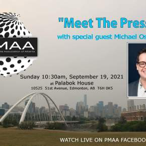 Michael Oshry is guest of PMAA's `Meet The Press' on Sunday, Sept.19, at PalabokHouse