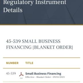 Alberta and Saskatchewan securities regulators adopt new small business financing prospectusexemption