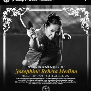Table tennis leaders pay tribute to JoMedina