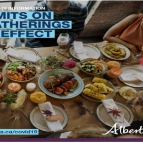 Limits on gatherings in effect in AlbertaProvince